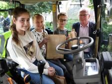 Campagne Hilvarenbeek waarschuwt kinderen voor gevaren landbouwverkeer