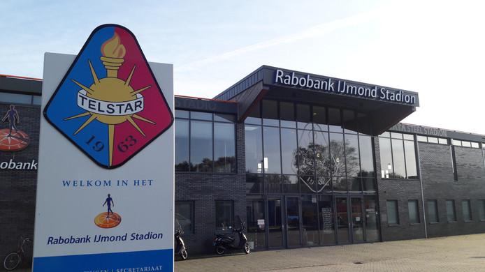 Het Rabobank IJmond Stadion van Telstar.