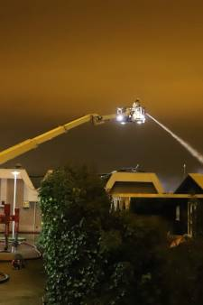 Uitslaande brand loods Moerkapelle