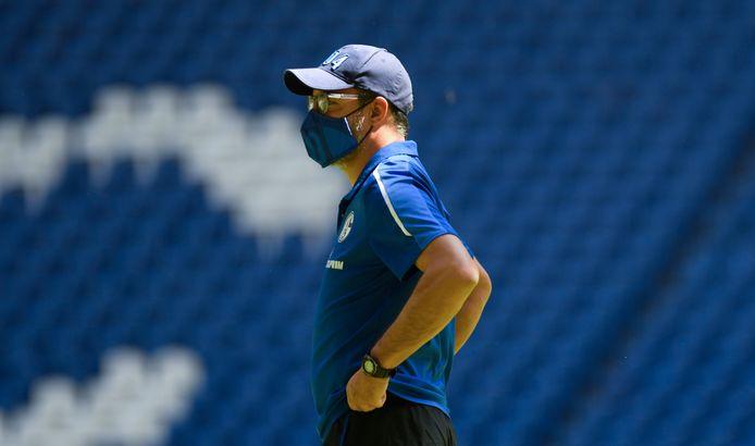 Schalke-coach Wagner.