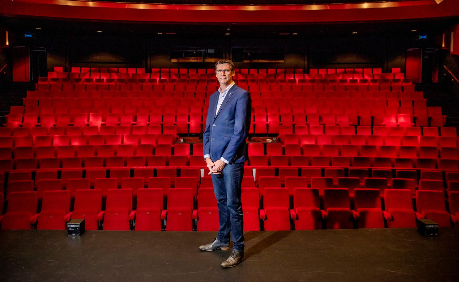 Alex Kühne is nu nog directeur van de Deventer Schouwburg. Hij wordt in november directeur-bestuurder van het Theater aan de Parade in Den Bosch.