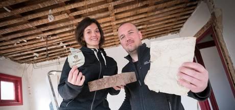 Stel vindt 'schatten' onder villavloer in Zetten