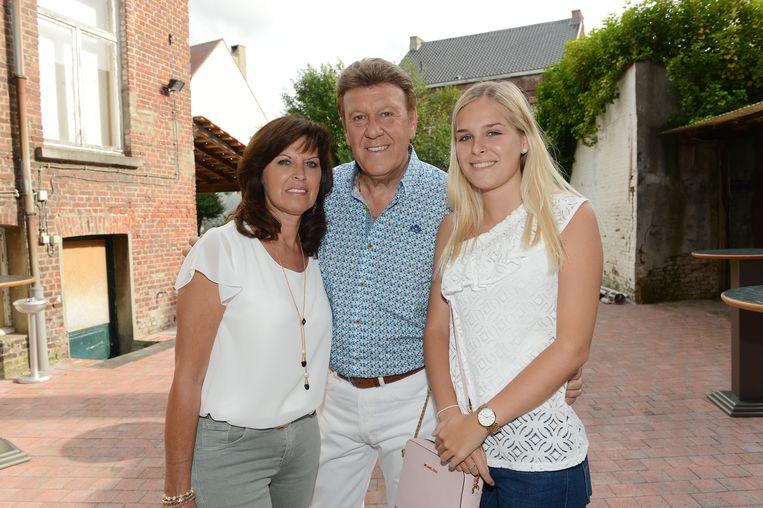 Danny met zijn echtgenote Georgette en hun dochter Lauren.