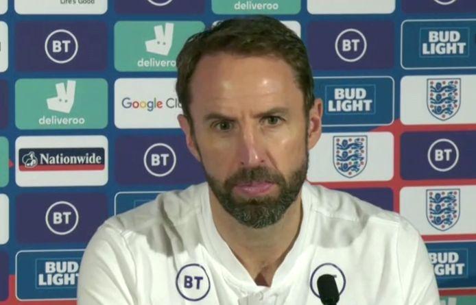 Gareth Southgate, le sélectionneur anglais