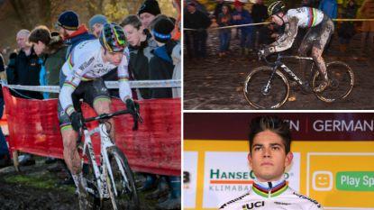 De ene keer de witte fiets en de andere keer de zwarte: materiaal zorgt voor irritatie bij Wout van Aert