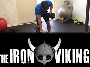 Loodzware uitdaging: 100 dagen trainen voor 42 km Iron Viking Strong Man Run