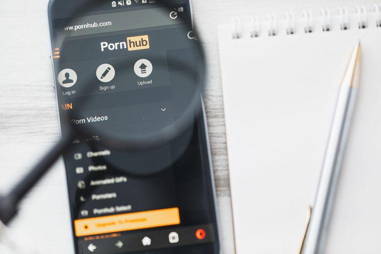 Het nepfilmpje met 'Dionne' stond op de website Pornhub.
