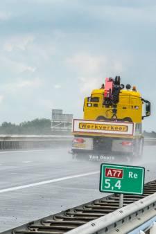 Werk aan A77 begint in november, maar afrit Gennep gaat vast open