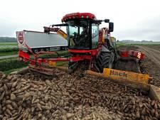 West-Brabantse boeren halen de oogst met plezier van het land