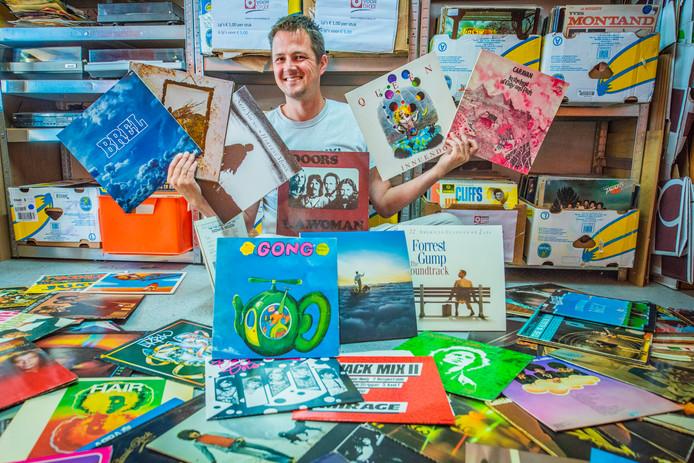 Frank Schild van Vinyl voor Elaar