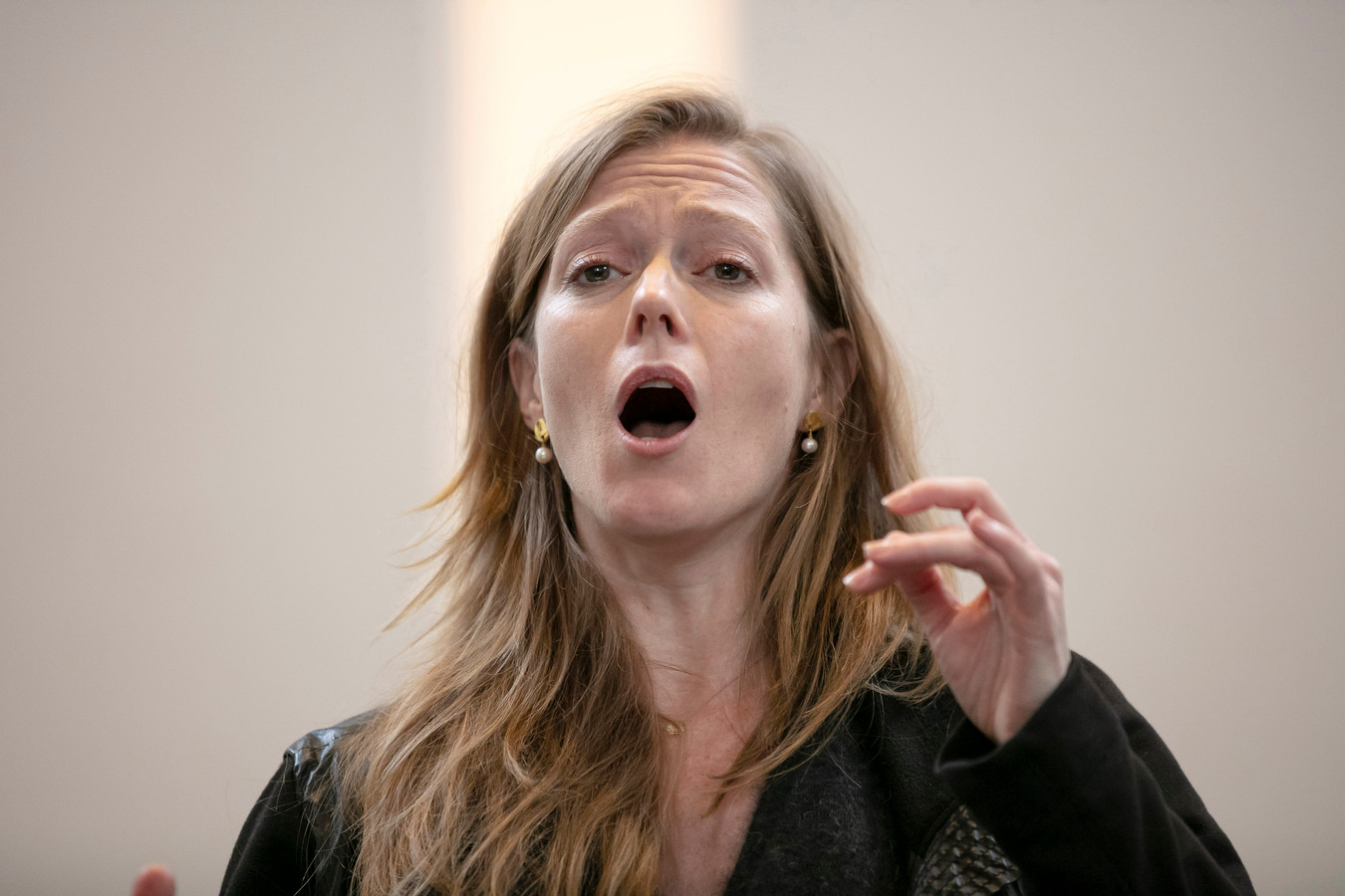 November Music, sopraan Barbara Hannigan op de John Zorn dag.