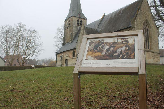 Onder ander de kerk van Sint-Anna-Pede wordt aangedaan tijdens 'De Blik van Bruegel'.