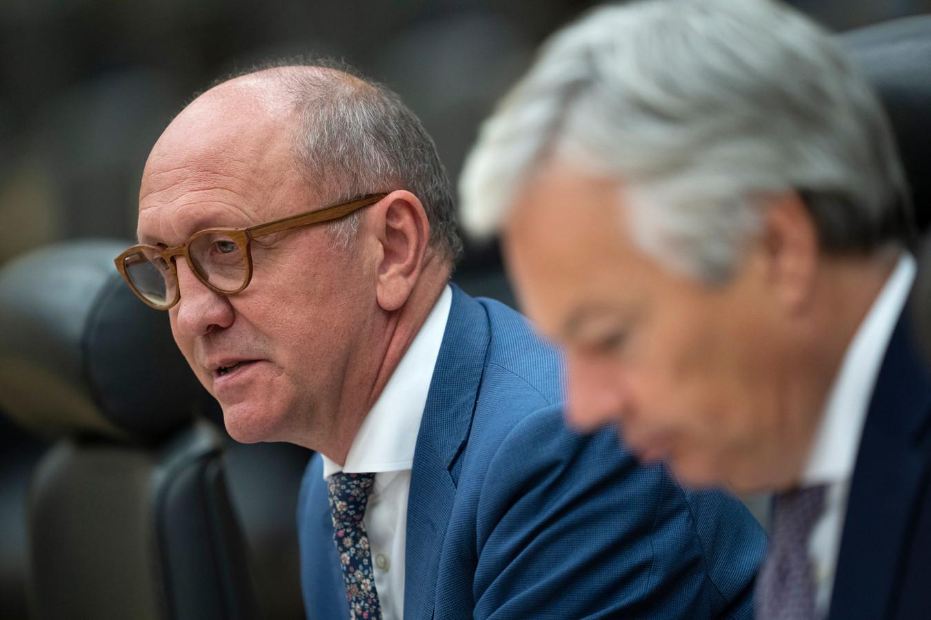 Les informateurs royaux Johan Vande Lanotte et Didier Reynders.