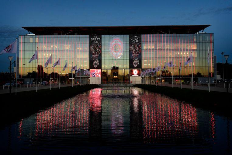 Bosuilstadion Antwerpen.