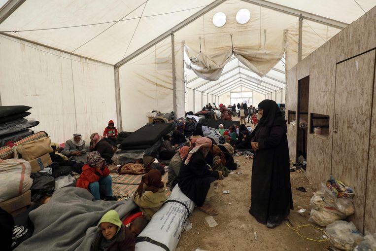 e53c548696cc27 In dit kamp is er ook een bewaakte detentievleugel waar Belgische vrouwen  en hun kinderen zitten die zich in het verleden lid waren ...