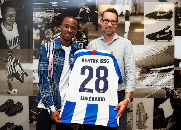 Lukebakio zal het nummer 28 dragen bij Hertha.