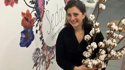 Seda's bloemenatelier opent op Overleie en levert boeketjes met de fiets