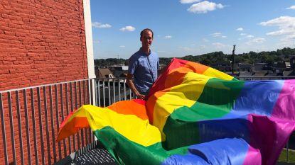 Zottegem laat regenboogvlag wapperen in de strijd tegen homofobie en transfobie