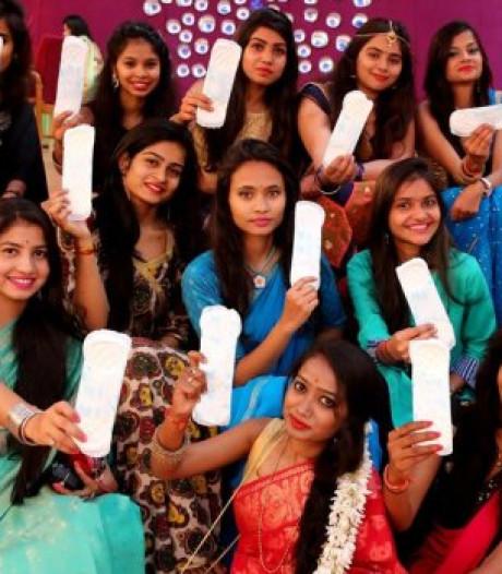 India schrapt belasting op maandverband