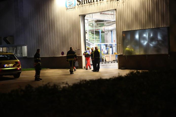 Vrouw overleden nadat ze bekneld raakte in machine bij bedrijfsongeval in Etten-Leur. Foto Christian Traets