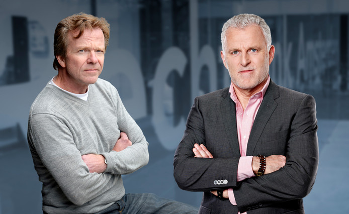 Wim Dankbaar (l) en Peter R. de Vries