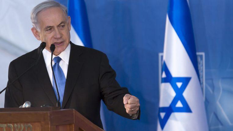 De Israëlische premier Benjamin Netanyahu
