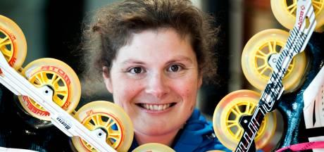 Op een pindakaaspannenkoek skeelerde Marit Kaats naar goud en brons op de Special Olympics