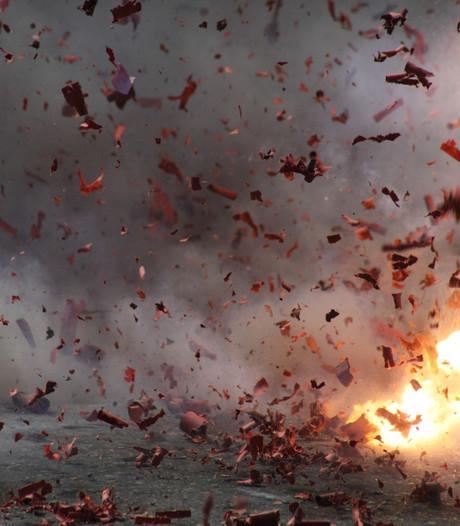 Ruim kwart ton schade tijdens jaarwisseling in Wijchen