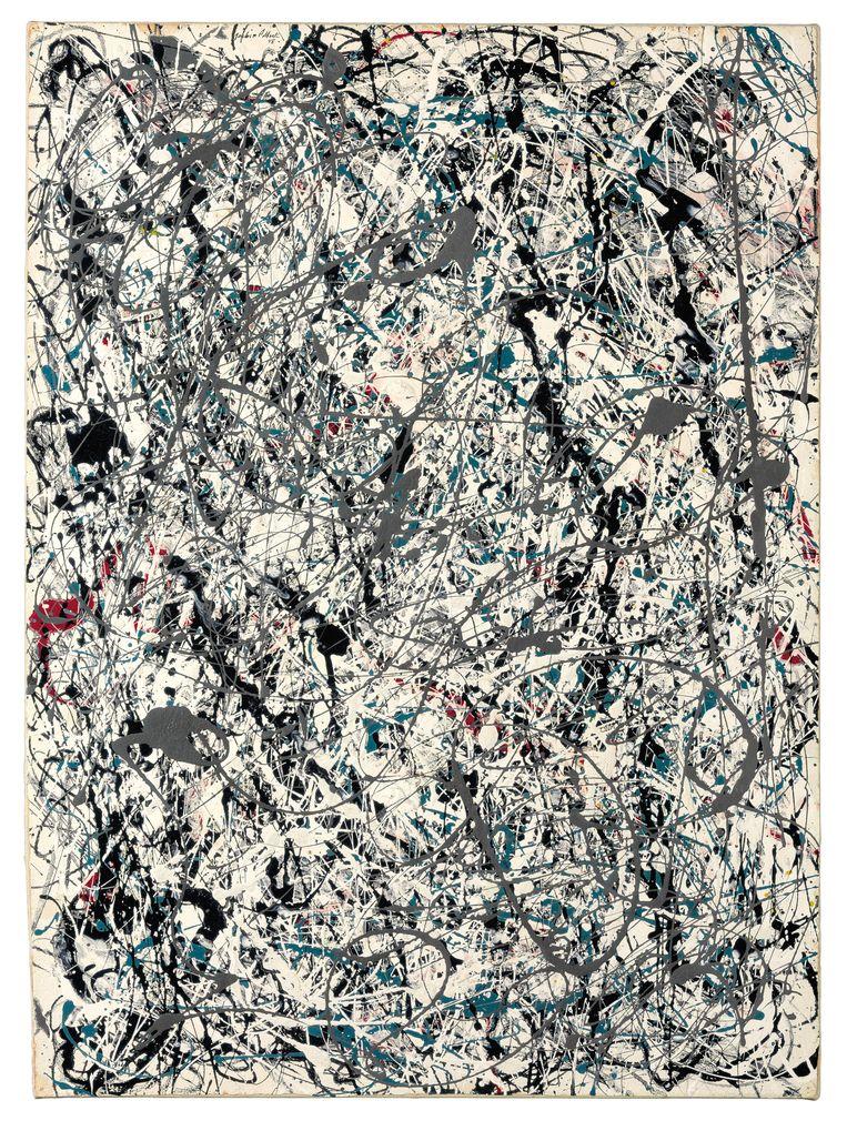 Number 19 van Jackson Pollock. Beeld AP