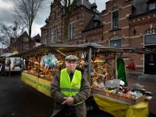 Helmonds geel vestje op zaterdagmarkt