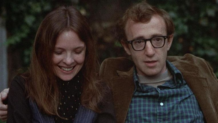 Diane Keaton en Woody Allen in Annie Hall. Beeld