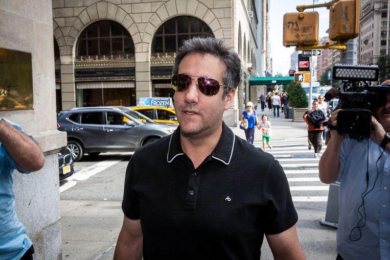 Michael Cohen, de in ongenade gevallen persoonlijke advocaat van Donald Trump.