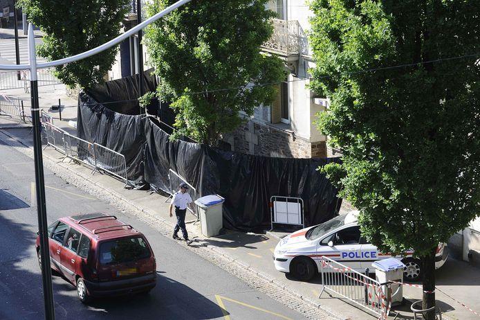 De woning waar in april 2011 de lichamen van de moeder en haar vier kinderen werden gevonden.