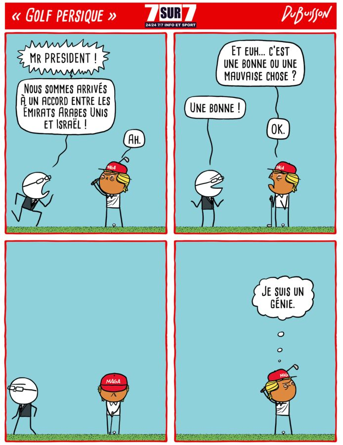 """""""Golf persique"""", 14 août 2020"""