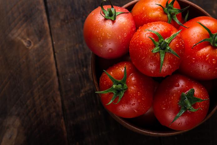 Tomaten verliezen hun smaak in de koelkast.