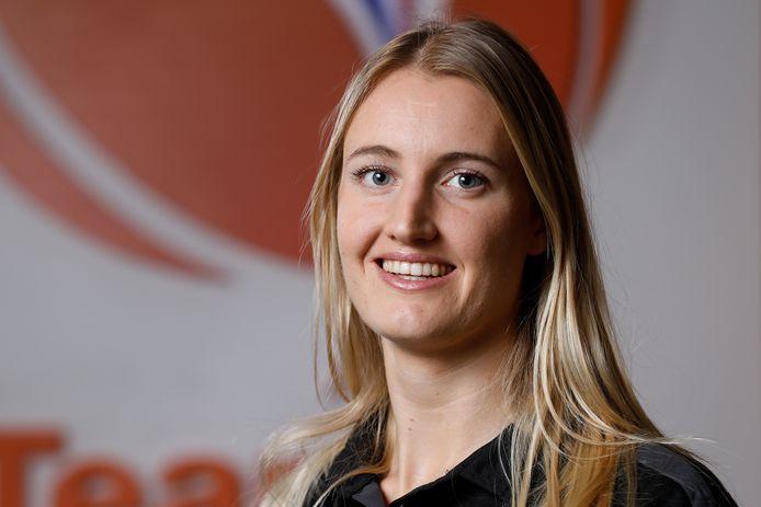 Kelly Dulfer werd in 2019 verkozen tot sportvrouw van het jaar in Schiedam.