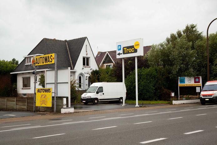 De Albert Heijn zou in de plaats van Troc.com komen.