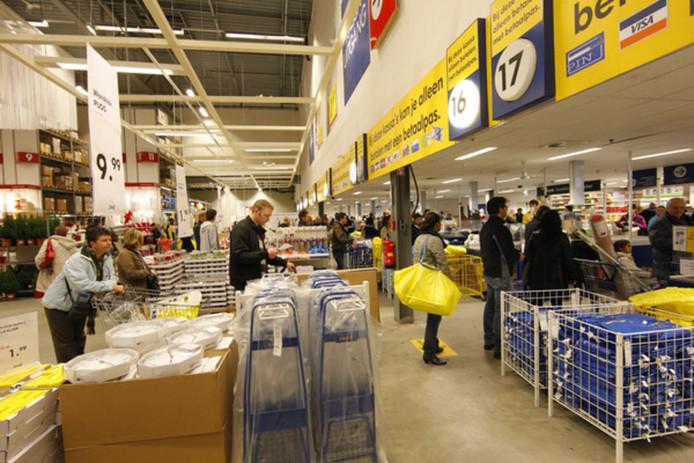 In de Ikea-vestiging in Utrecht wordt op 18 april géén verstoppertje gespeeld.