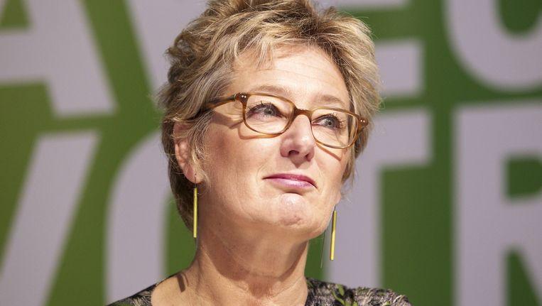 Brussels minister van Milieu Evelyne Huytbebroeck.