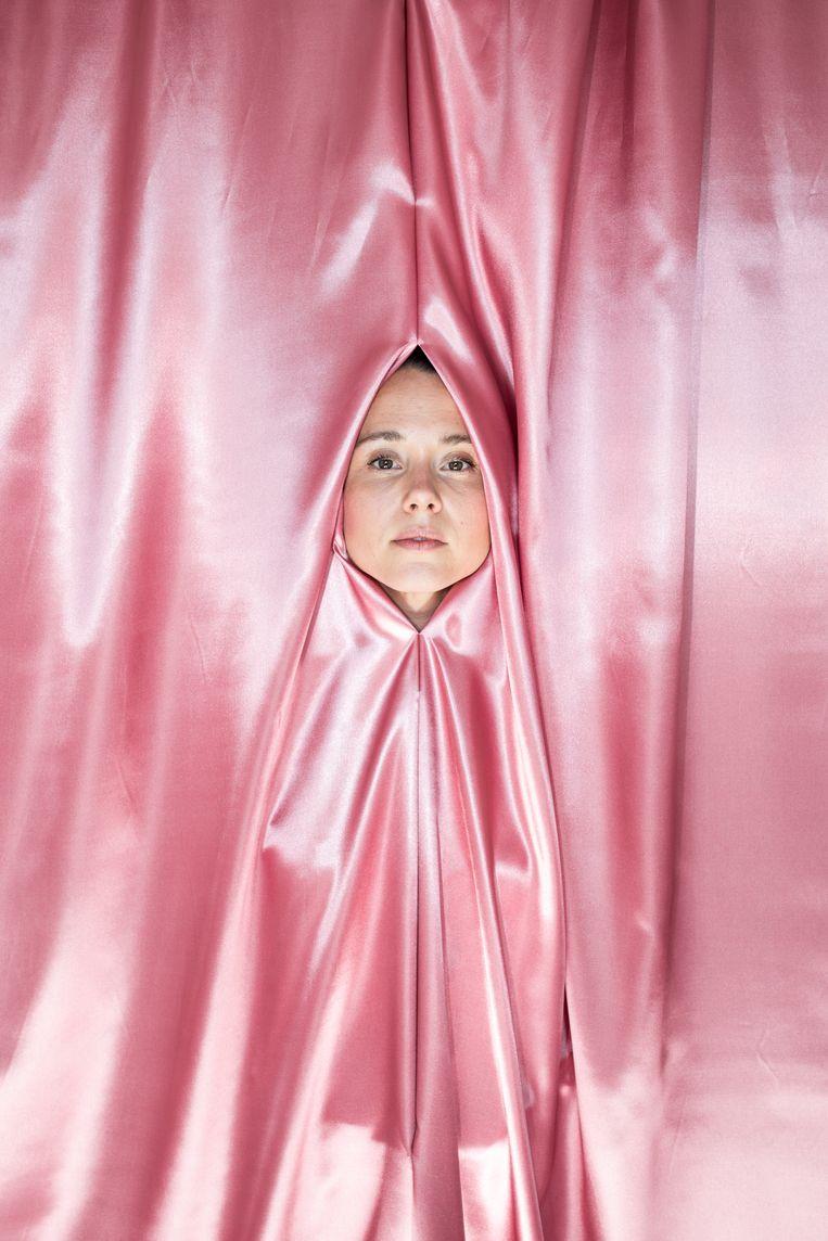 Nina Pierson: 'Als je je bevalling goed voorbereidt, is de kans op een goede ervaring groter.' Beeld Nosh Neneh