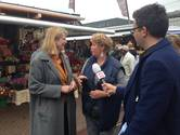 Krikke neemt kijkje op Haagse Markt: 'Een eer om hier te zijn'
