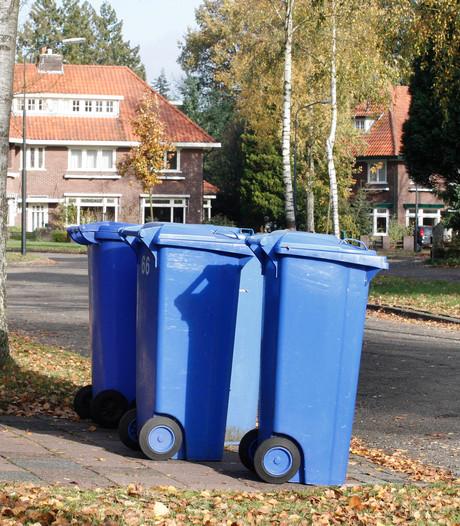 Drummen op blauwe container voor zakcentje Zwolse verenigingen