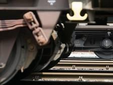 Test met zelfrijdende trein op Betuweroute nabij