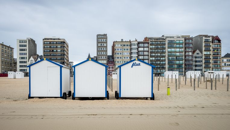 Het strand van De Panne.
