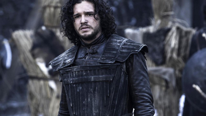 Kit Harrington in Game Of Thrones.