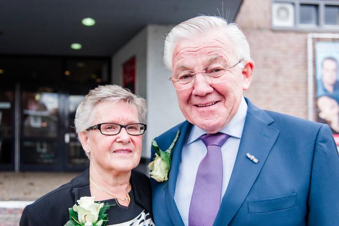 Ellie (74) en Hans Meijs (74) zijn vijftig jaar getrouwd.