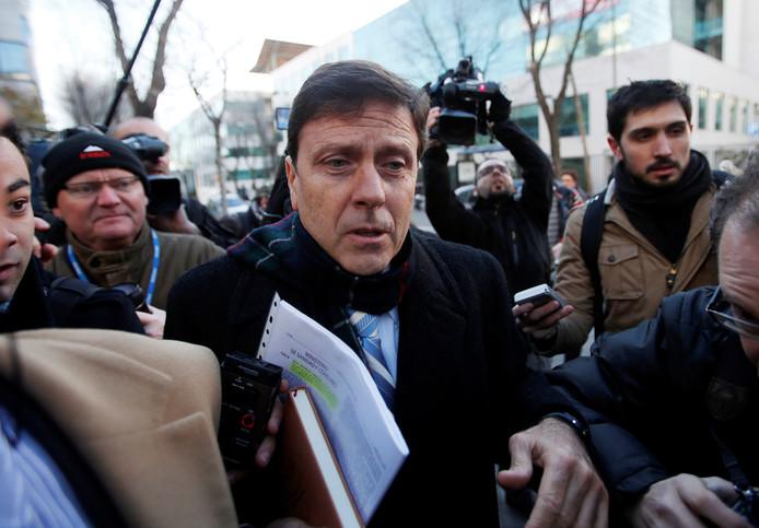 Eufemiano Fuentes bij zijn proces in 2013.