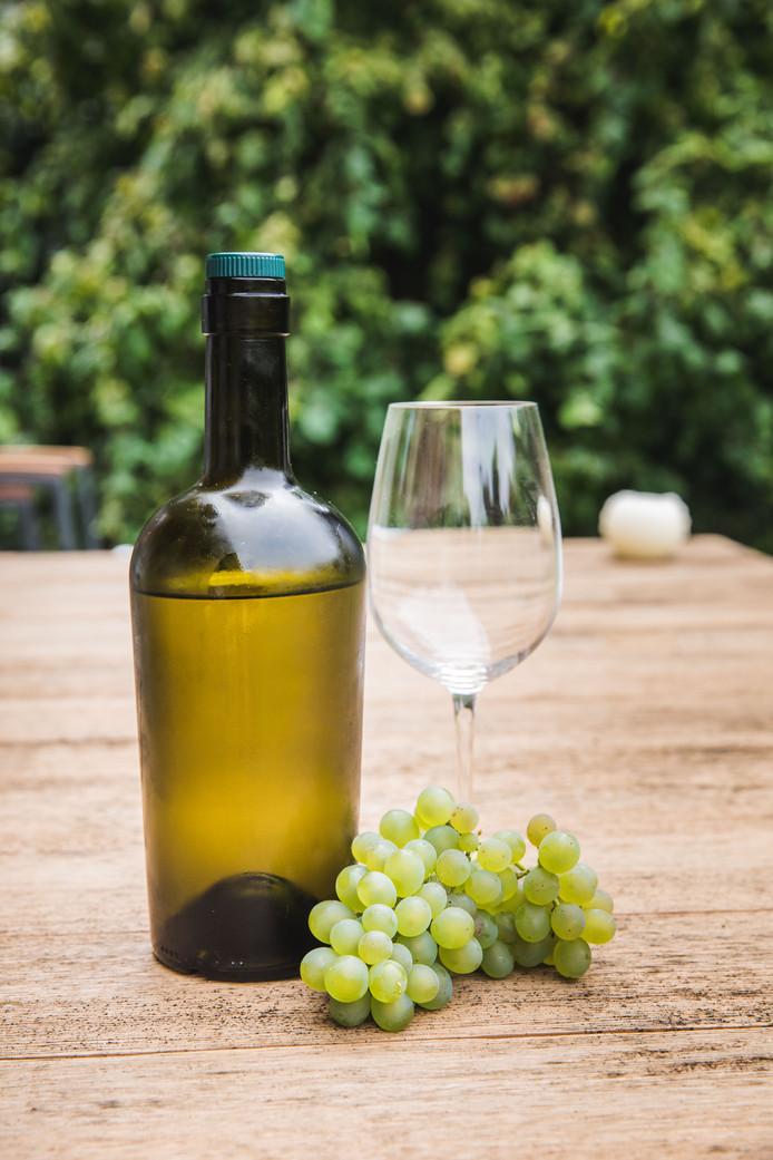 Het resultaat: Dionys-wijn