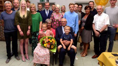 Julien en Diane zijn 50 jaar getrouwd