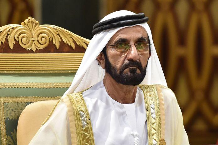 Op de foto: Mohammed bin Rasjid Al Maktoem, de emir van Dubai.